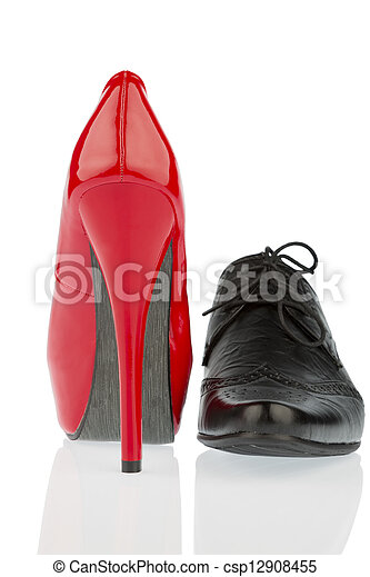 hauts talons, chaussure hommes - csp12908455