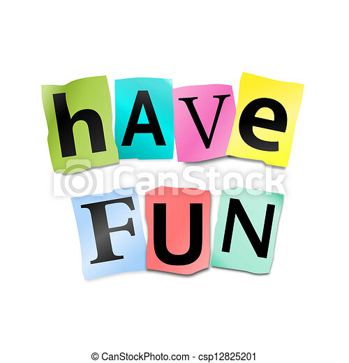 have fun illustrations and clip art 6 559 have fun royalty free rh canstockphoto com fun clip art to paint on rocks funny clip art