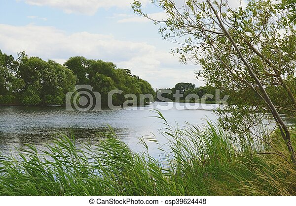 Havel river at summer time - csp39624448