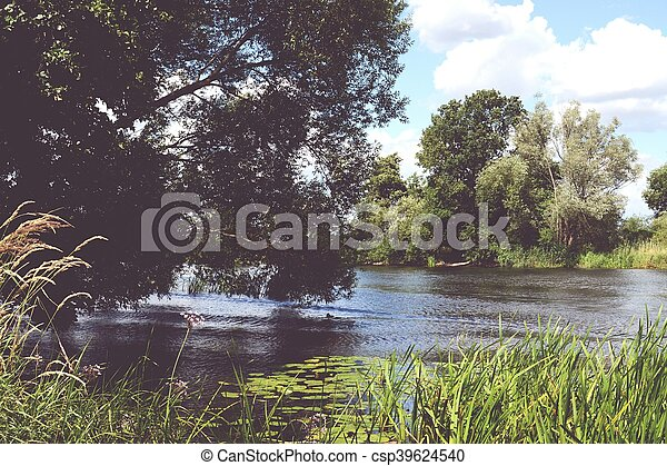 Havel river at summer time - csp39624540