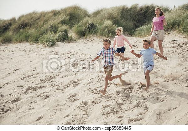 Having Fun at the Beach - csp55683445