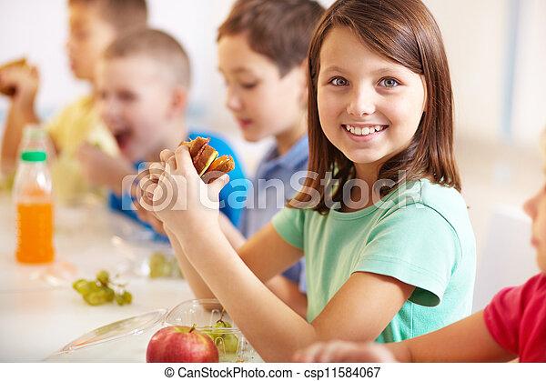 Having snack - csp11584067
