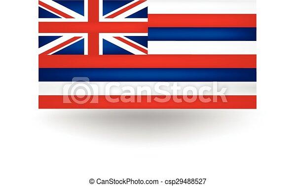 Hawaii State Flag - csp29488527