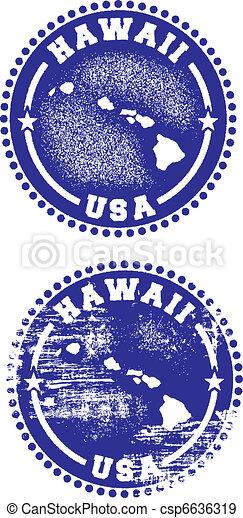 Hawaii USA Stamps - csp6636319