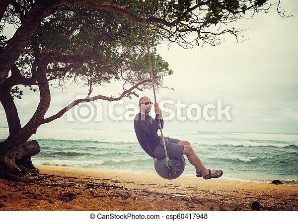 Hawaiian beach - csp60417948