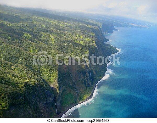 hawaiian coast - csp21654863