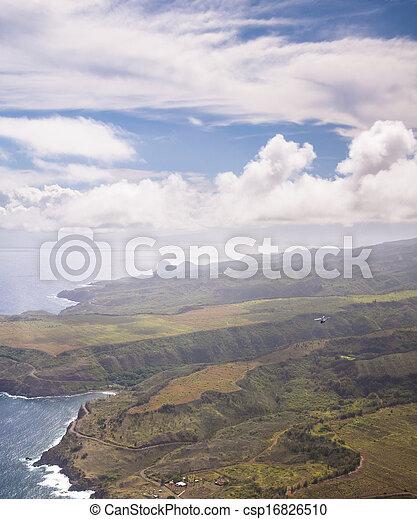 Hawaiian Coastline - csp16826510