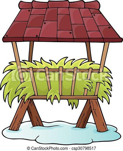 Hay rack theme image 1 - csp30798517