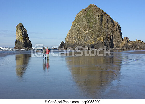 Haystack Rock - csp0385200