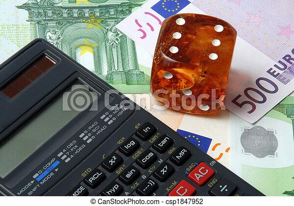 Hazard of business - csp1847952