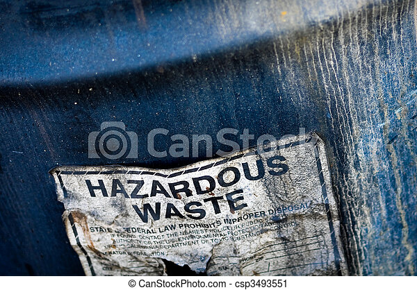 Hazardous Waste - csp3493551