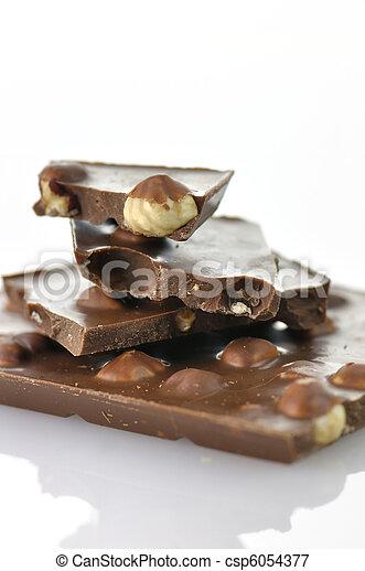 hazelnut chocolate - csp6054377
