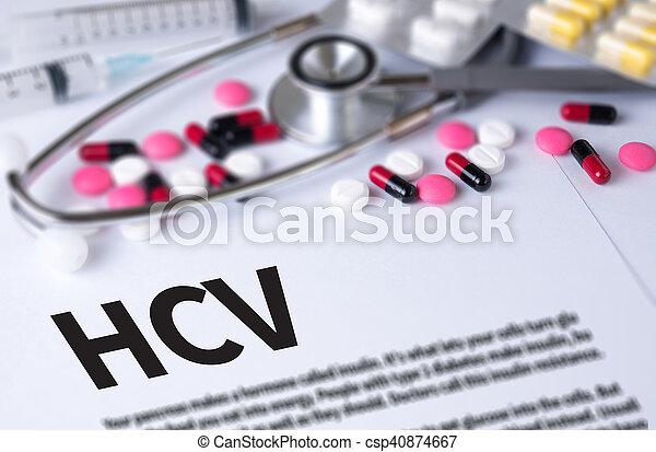 HCV - csp40874667