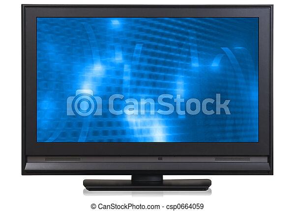 HD LCD television - csp0664059