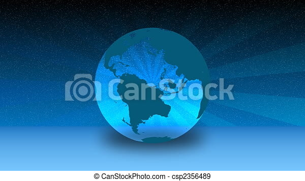 hd spinning globe