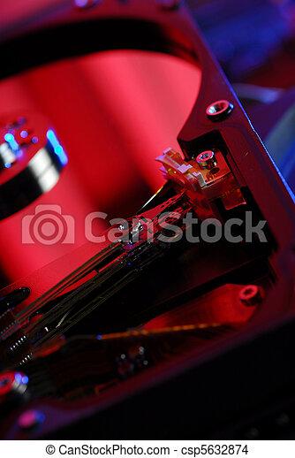 De antecedentes de HDD - csp5632874