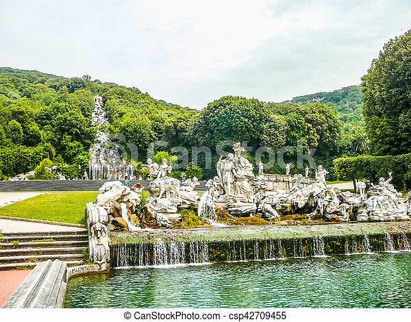 HDR Gardens in Caserta - csp42709455