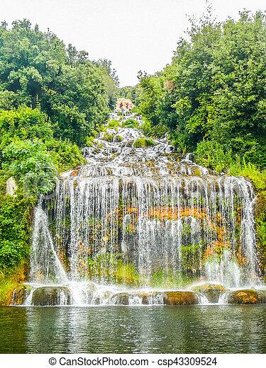 HDR Gardens in Caserta - csp43309524