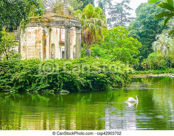 HDR Gardens in Caserta - csp42903702