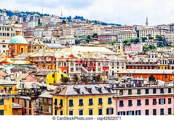 HDR Genoa, Italy - csp42822071