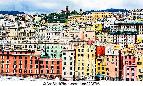 HDR Genoa, Italy - csp40728796