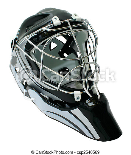 hełm, hokej, goaltender - csp2540569