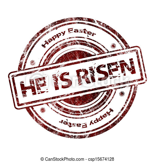 He is risen - csp15674128