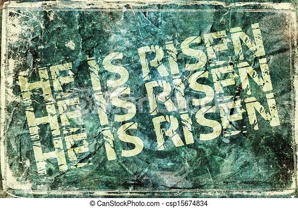 He Is Risen - csp15674834