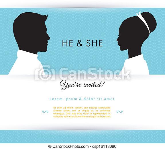 He & She - csp16113090