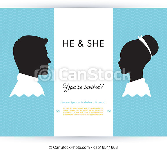 He & She - csp16541683