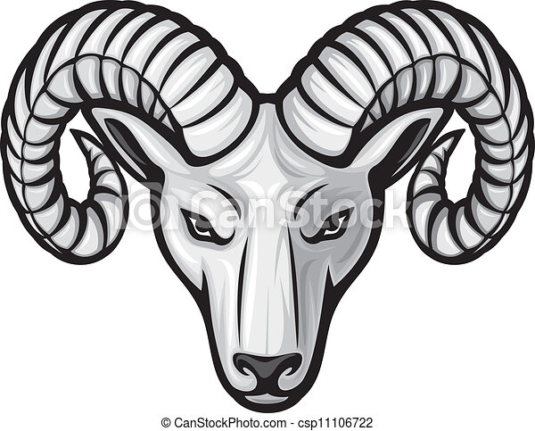 head of the ram (ram head) - csp11106722