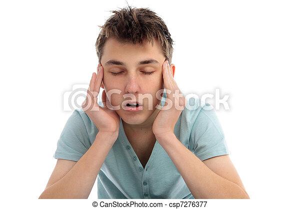 Headache pain discomfort - csp7276377