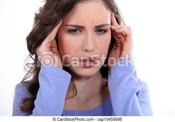 Headache - csp10455698