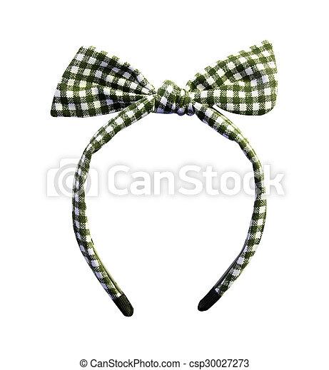 Headband on white background - csp30027273