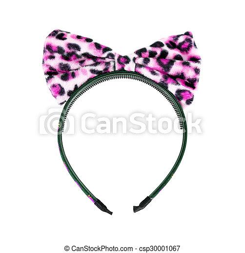 Headband on white background - csp30001067
