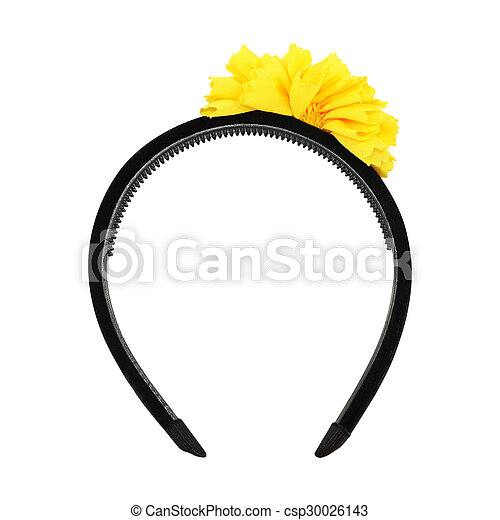 Headband on white background - csp30026143
