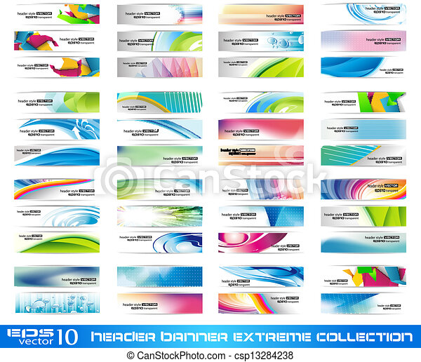 Header Banner extreme collection - csp13284238