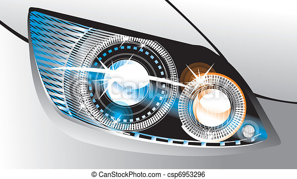 Awesome Headlight Vector