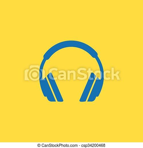 Headphone icon - csp34200468