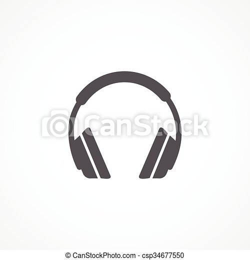 Headphone icon - csp34677550