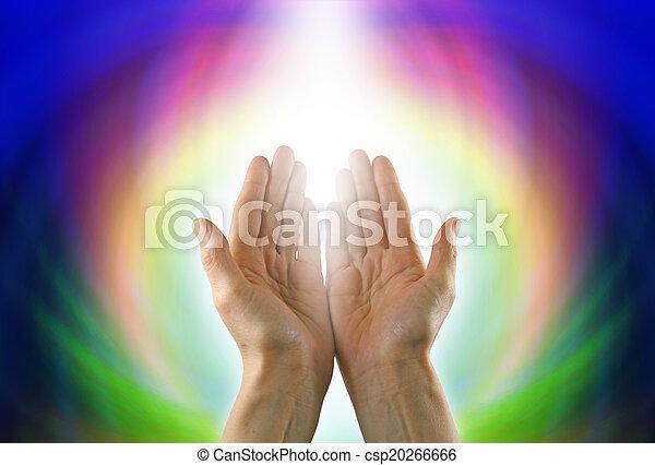 Healing Circle of Light - csp20266666