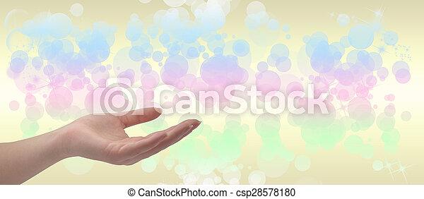 Healing Hand - csp28578180