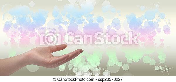 Healing Hand - csp28578227