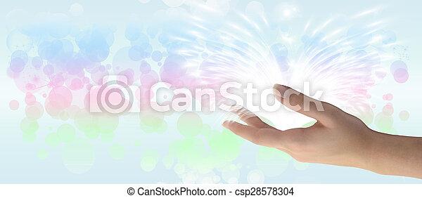 Healing Hand - csp28578304
