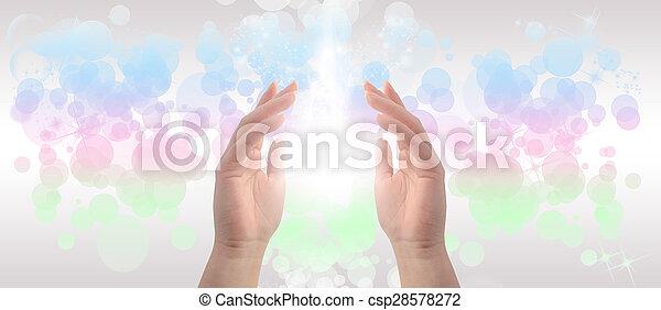 Healing Hands - csp28578272