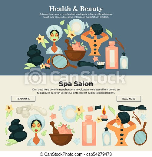 Health And Beauty Prosedures At Spa Salon Promo Banner Health And Beauty Procedures At Spa Salon Promotional Banner