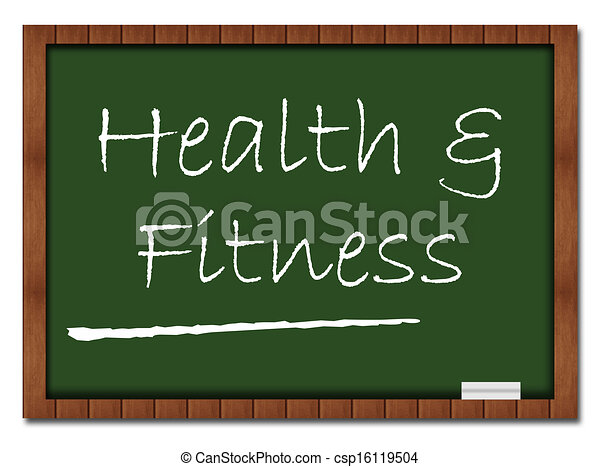 Health and Fitness Classroom Board - csp16119504