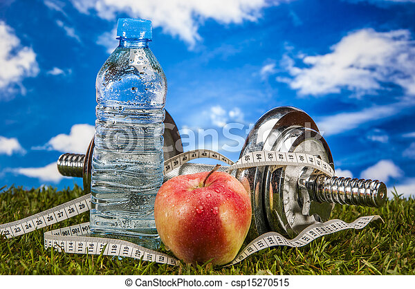Health and fitness theme - csp15270515