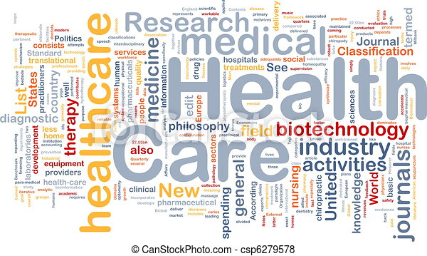 Health care background concept - csp6279578