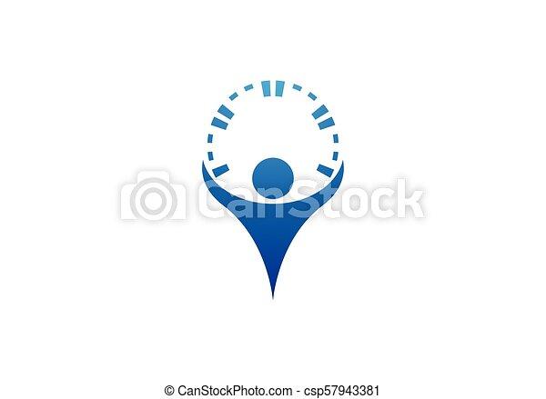 Health care logo - csp57943381